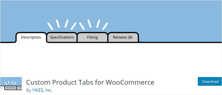 custom-product-tabs-woocommerce