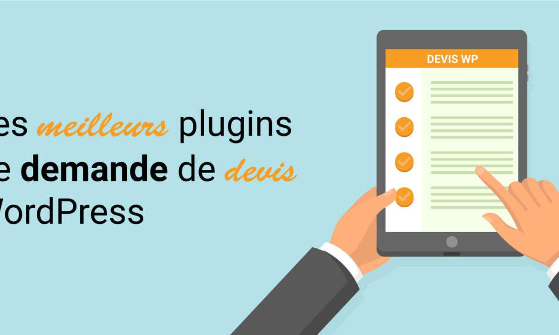 plugin devis wordpress